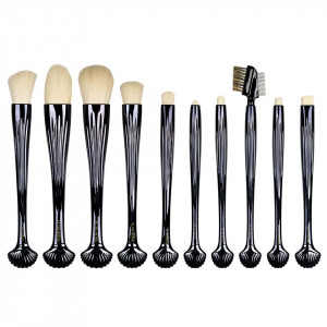 Set 10 pensule machiaj Black Shell LUXORISE Germania