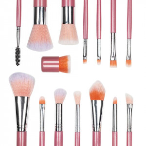 Set 15 Pensule Machiaj Profesional Only Cuteness - Peach