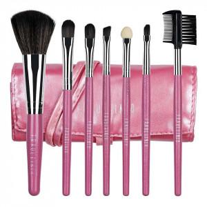 Set 7 pensule machiaj Fraulein38, Sweet Pink + Borseta Cadou