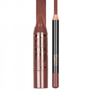 Set Ruj si Creion Contur Buze Ushas #09