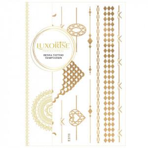 Tatuaj Temporar LUXORISE Henna Temptation Gold Edition E010