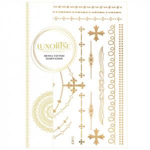 Tatuaj Temporar LUXORISE Henna Temptation Gold Edition E015