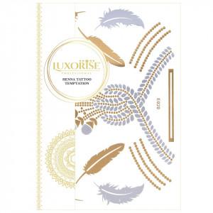 Tatuaj Temporar LUXORISE Henna Temptation Gold Edition E020