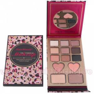 Trusa Farduri cu Pudra si Blush Magic Potion Premium Palette