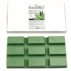 Ceara Epilat Elastica Refolosibila SensoPRO - Aloe Hard Wax, 500g