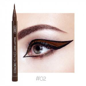 Eyeliner colorat Qibest Waterproof, Maro #02