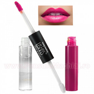 Lip Gloss 2 in 1 High Shine #01 Color & Gloss - Pamplona Purple