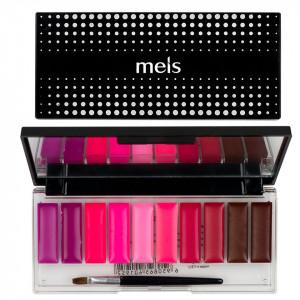 Paleta Ruj si Gloss 10 culori #02 Pink Sensation