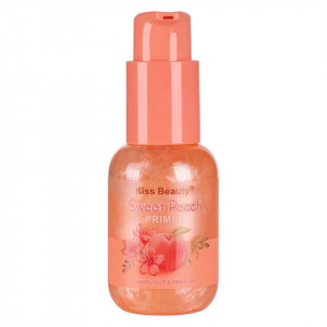 Primer Machiaj Kiss Beauty Sweet Peach, 60ml