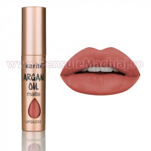 Ruj Lichid Mat Argan Oil #10 Tulle Red