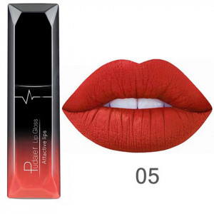 Ruj lichid mat Pudaier Attractive Lips - Burning Flame #05