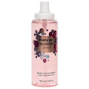 Spray Fixare Machiaj Diamond Petals Pretty Up, 150ml