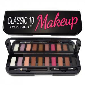 Trusa Farduri 10 culori neutre Classic Make-up Ever Beauty