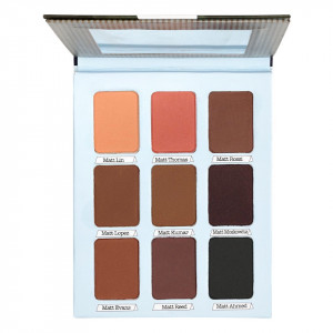 Trusa Farduri 9 culori mate - Meet Matt(e) Nude, Premium Edition