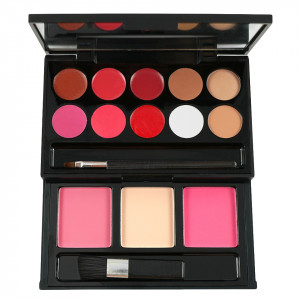 Trusa Machiaj 10 culori cu ruj si 3 culori blush My Beauty Secret