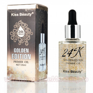 Baza de machiaj Gold Dust 24K Golden Edition