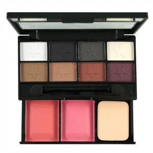 Fard de Pleoape 8 culori cu blush 2 culori DUOMEILA #03