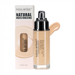 Fond de Ten Miss Rose Moisturizing Foundation Beige #1, 50 ml
