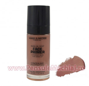 Fond de Ten Refreshing Foundation cu Primer 30 ml - #05 ten bronzat