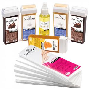 Kit Epilare Ceara Consumabile SensoPRO Chocolate Mousse