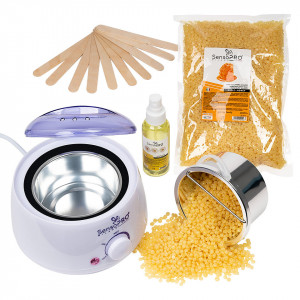 Kit Epilare Ceara Traditionala Granule SensoPRO Milano Honey