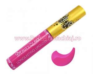 Lip Gloss rezistent la transfer mat Beauty of Mind #07 - Wineberry