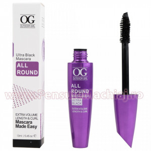Rimel Extra Volum si Alungire - Mascara Extra Volume Length & Curling, 13g