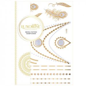 Tatuaj Temporar LUXORISE Henna Temptation Gold Edition E011