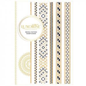 Tatuaj Temporar LUXORISE Henna Temptation Gold Edition E016