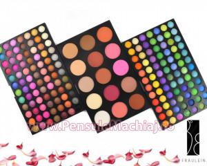 Trusa Farduri 183 culori cu blush Fraulein38 All in One