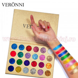 Trusa Farduri Glitter Veronni Highlighter Queen