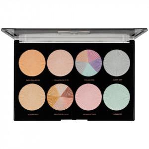 Trusa Machiaj MakeUp Revolution HD Highlighter Palette Glow Getter
