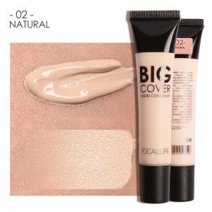 Concealer Lichid BIG COVER FOCALLURE #02 NATURAL