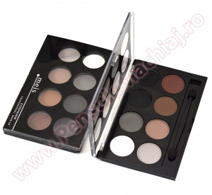 Fard de Pleoape 8 culori mate #04 Eyeshadow  Meis - Midnight Colors