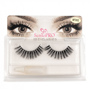 Gene false banda cu adeziv SensoPRO Lash - Striped Look MT-002