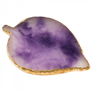Paleta Mixare Fond de Ten si Adeziv Jad, Purple Leaf
