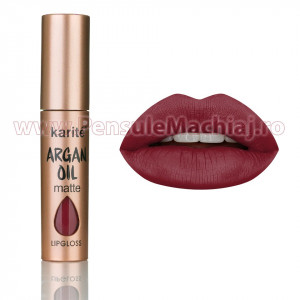 Ruj Lichid Mat Argan Oil #03 Burgundy Red