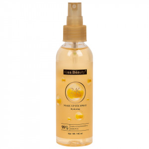 Spray Fixare Machiaj Kiss Beauty Hydrating 24K Gold, 140ml