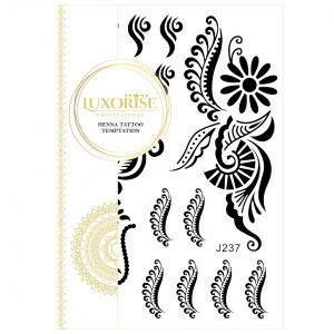 Tatuaj Temporar LUXORISE Henna Temptation My Tribe J237