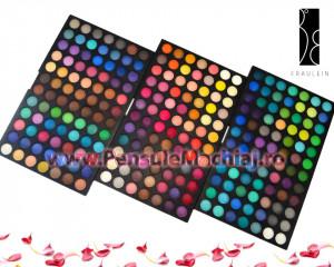 Trusa Farduri 252 culori mate Fraulein38 Ultimate Matte Palette, 3 palete culori