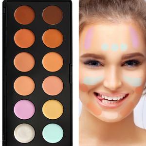 Corector, Anticearcan, Concealer 12 culori Fraulein38 Natural Look