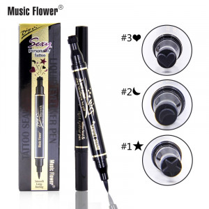 Eyeliner Lichid Multifunctional 2 in 1 Magic Eyeliner