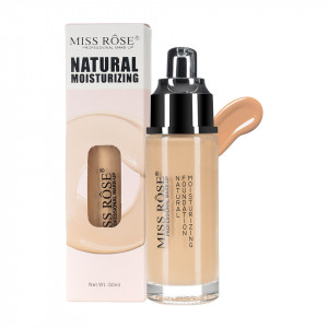 Fond de Ten Miss Rose Moisturizing Foundation Beige #5, 50 ml