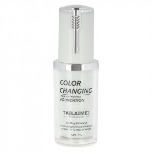 Fond de Ten TLM Waterproof Color Changing SPF 15, Green 40ml