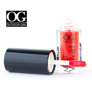Lip Gloss mat, Smoothing Lip Gloss #04 - Red Seduction