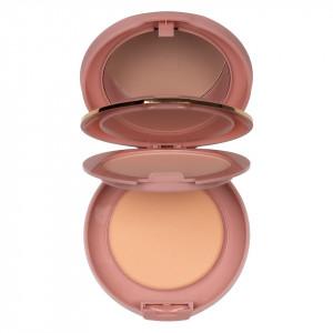 Pudra Compacta Fixare Machiaj 5 in 1 TLM Micro Powder Pink