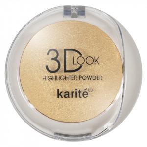 Pudra Iluminatoare cu aplicator Karite 3D Look Oil Control #02