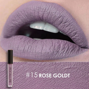 Ruj lichid mat Focallure Rose Gold #15