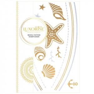 Tatuaj Temporar LUXORISE Henna Temptation Gold Edition E012