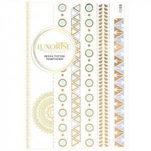 Tatuaj Temporar LUXORISE Henna Temptation Gold Edition E022